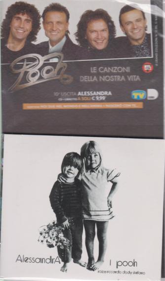Cd Musicali di Sorrisi - n. 10 - Pooh - Alessandra - 13/3/2020 - settimanale