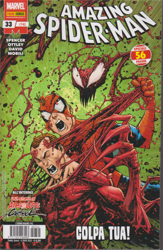Uomo Ragno - Amazing Spider-Man - Colpa tua! - n. 742 - quindicinale - 12 marzo 2020