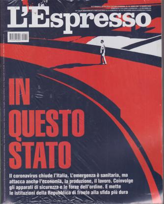 L'espresso - n. 12 - settimanale - 15 marzo 2020