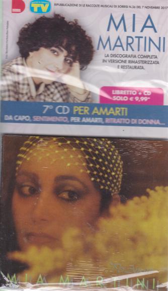Grandi Raccolte Musicali di Sorrisi 4 n. 7 - settimanale - Mia Martini - 7° cd - Per amarti - libretto + cd -