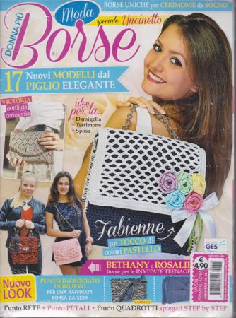 Lavori Femminili Extra - Donna più borse - n. 45 - bimestrale - 2 riviste