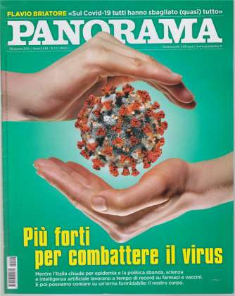 Panorama - n. 12 - 18 marzo 2020 - settimanale