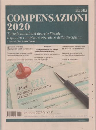 Compensazioni 2020 - marzo 2020 - n. 1 - bimestrale
