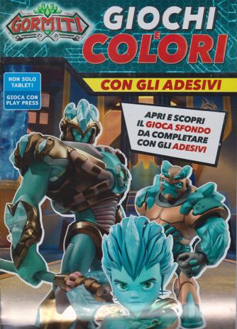 Gormiti Giochi e Colori - n. 6 - marzo - aprile 2020 - bimestrale