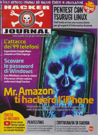 Hacker Journal - n. 242 - mensile - 20/3/2020 -
