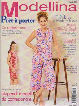 Modellina Pret-a porter - n. 1 - semestrale - 27/2/2020 -