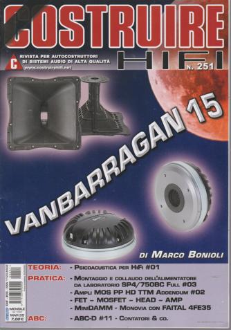 Costruire Hi-Fi - n. 251 - mensile - marzo 2020