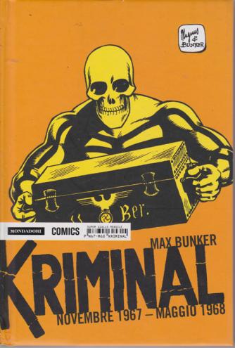 Kriminal - Novembre 1967 - maggio 1968 - di Max Bunker - super giallo mensile -