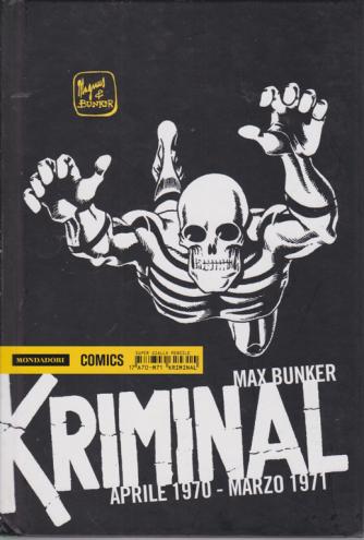 Kriminal - Aprile 1970 - marzo 1971 - di Max Bunker - n. 17 - super giallo mensile
