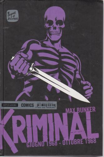 Kriminal Giugno 1968 - ottobre 1968 - di Max Bunker - super giallo mensile