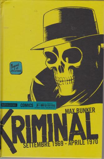 Kriminal - settembre 1969 - aprile 1970 - di Max Bunker - n. 16 - mensile