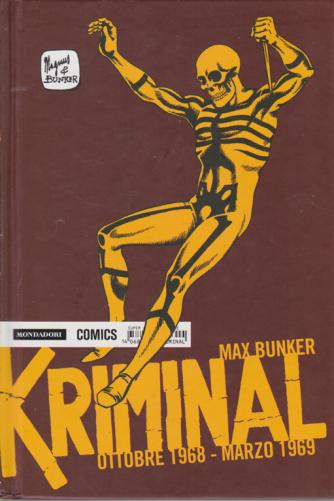 Kriminal - ottobre 1968 - marzo 1969 - di Max Bunker - n. 14 - mensile