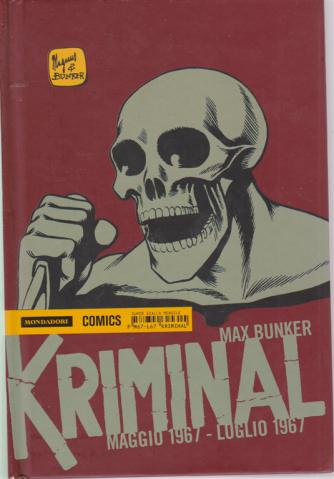 Kriminal - maggio 1967 - luglio 1967 - di Max Bunker - mensile