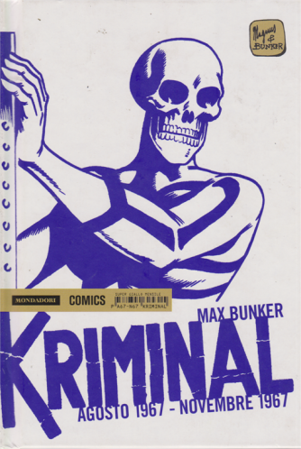 Kriminal - agosto 1967 - novembre 1967 - di Max Bunker - mensile
