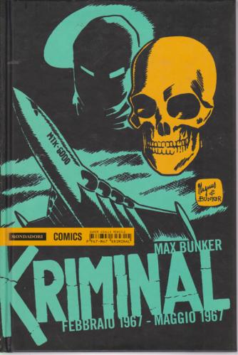 Kriminal - febbraio 1967 - maggio 1967 - di Max Bunker - mensile
