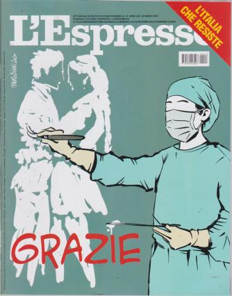 L'espresso - n. 13 - settimanale - 22 marzo 2020 -