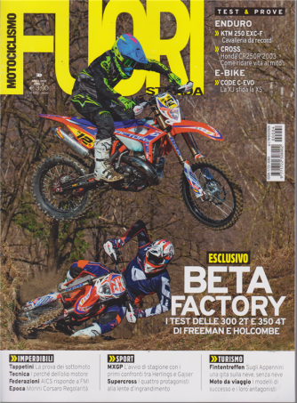 Motociclismo Fuoristrada - n. 4 - aprile 2020 - mensile