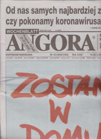 Angora - n. 12 - 16- 22 - 3 /2020 - in lingua polacca