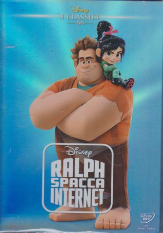 I Dvd di Sorrisi 4 - I classici Disney - Ralph spacca internet - n. 18 - 24/3/2020 - settimanale