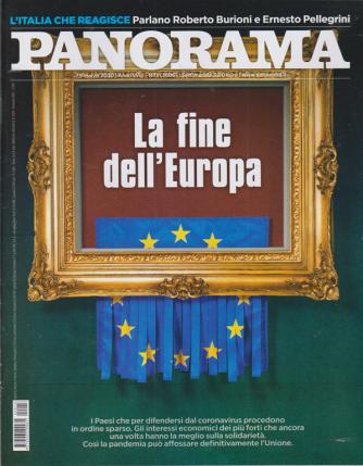 Panorama - n. 13 - 25 marzo 2020 - settimanale