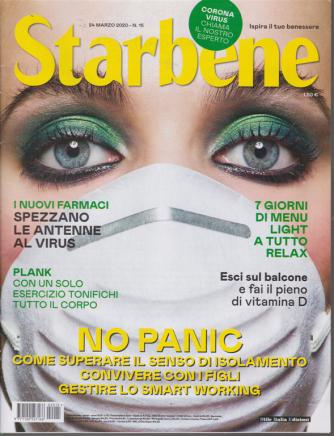 Starbene - n. 15 - 24 marzo 2020 - settimanale