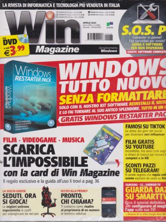 Win Magazine  + Dvd - Versione Plus - n. 268 - aprile 2020 - mensile -