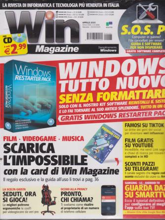 Win Magazine - + cd - n. 268 - aprile 2020 - mensile