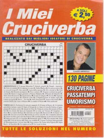 I miei cruciverba - n. 23 - trimestrale - maggio - giugno - luglio 2014 - 130 pagine