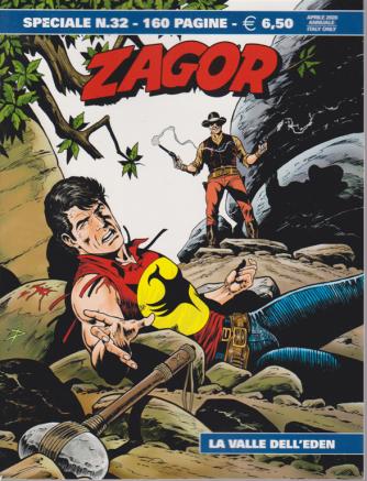 Zagor Speciale - La valle dell'Eden - n. 32 - aprile 2020 - annuale  - 160 pagine
