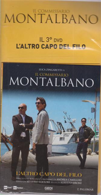 Il commissario Montalbano - 3° dvd - L'altro capo del filo - 31 marzo 2020 - settimanale -