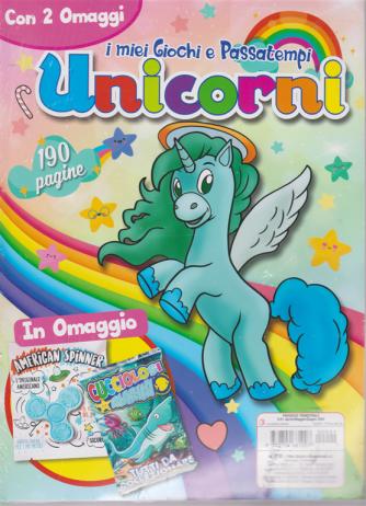 I miei giochi e passatempi - Unicorni - n. 2 - trimestrale - aprile/maggio/giugno 2020 - 190 pagine -  Con 2 omaggi