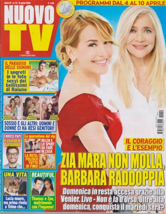 Nuovo Tv - n. 14 - 6 aprile 2020 - settimanale