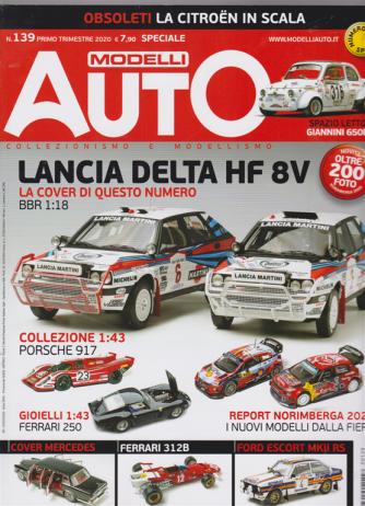 Modelli Auto - n. 139 - primo trimestre 2020 - 15/3/2020
