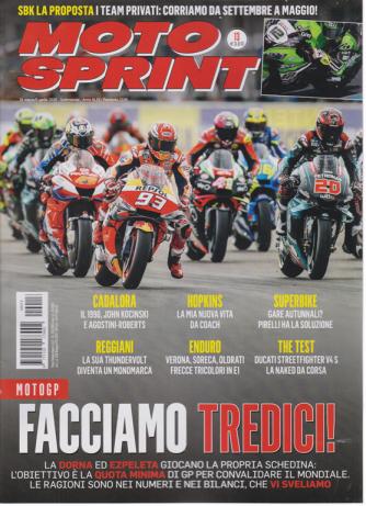 Motosprint - n. 13 - settimanale - 31 marzo/6 aprile 2020