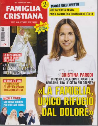 Famiglia Cristiana - n. 14 - 5 aprile 2020 - settimanale