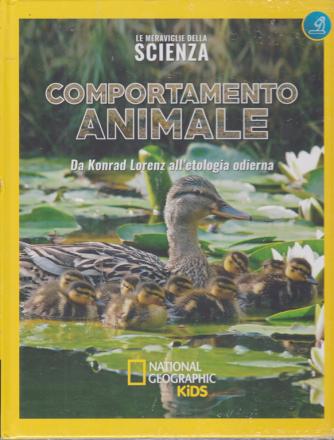 Le meraviglie della scienza - Comportamento animale - Da Konrad Lorenz all'etologia odierna - n. 32 - settimanale - 27/3/2020 - copertina rigida
