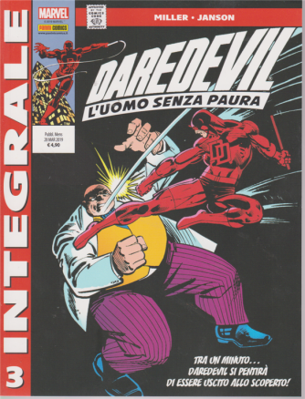Marvel Integrale Daredevil - L'uomo senza paura - n. 3 - mensile - 28 marzo 2019 -