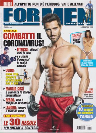 For Men Magazine - n. 206 - aprile 2020 - mensile