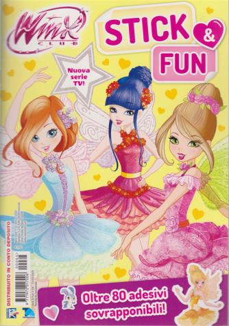 Winx club - Stick & Fun - n. 64 - 25/3/2020 - bimestrale