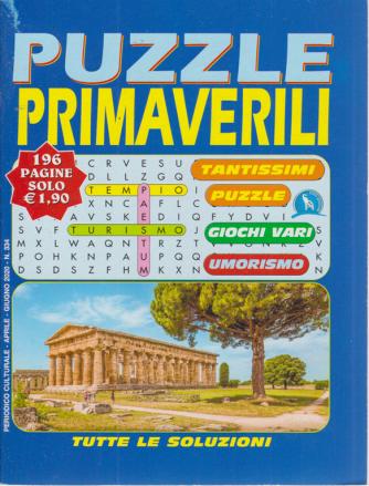 Puzzle Primaverili - n. 334 - aprile - giugno 2020 - 196 pagine