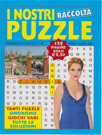Raccolta i nostri puzzle - n. 90 - aprile - giugno 2020 - 132 pagine