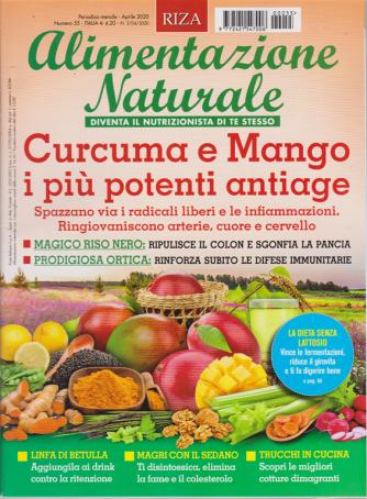 Alimentazione naturale - n. 55 - mensile - aprile 2020 -