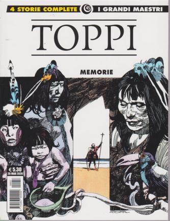 Cosmo Albi - I grandi maestri - Toppi - Memorie - n. 45 - mensile - 26 marzo 2020