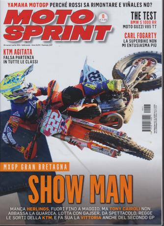 Motosprint - n. 13 - 26 marzo/1 aprile 2019 - settimanale -