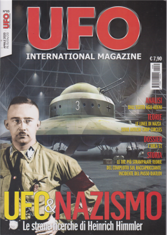 Ufo International magazine - n. 85 - 15/4/2020 -