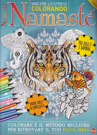 Color Relax Speciale - Namastè - n. 1 - maggio - giugno 2020 - Per adulti e bambini