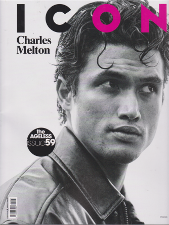 Icon - Charles Melton - n. 3 - mensile - aprile - maggio 2020