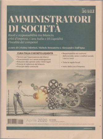 Sindaci & Revisori - Amministratori di società - n. 2 - mensile - aprile 2020