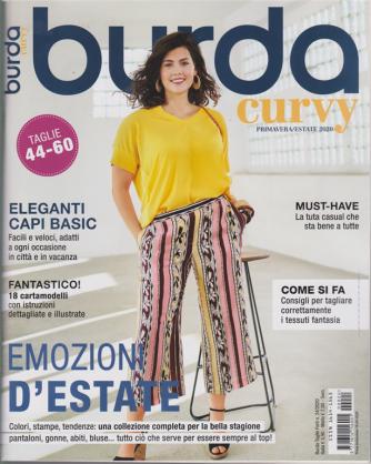 Burda Taglie Forti - Curvy - Primavera Estate 2020 - n. 24 - 18/4/2020 -