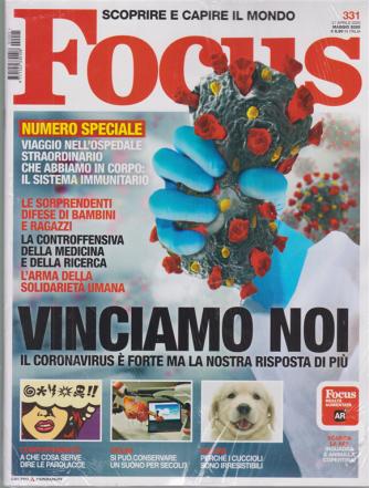 Focus + Focus Extra - n. 331 - maggio 2020 - 2 riviste